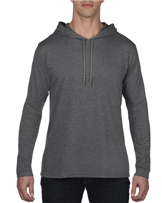 AN187 Lightweight Long Sleeve Hooded Tee