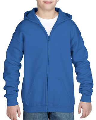 GD322 Full Zip Hooded Sweatshirt