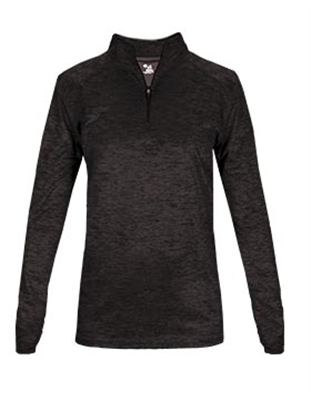 BA045 Badger Sport® Women's Tonal Blend 1/4 Zip