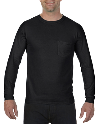 CF185 Adult Heavyweight Long Sleeve Pocket Tee